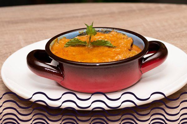 Mejillones gallegos al curry rojo tailandés