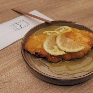 Pollo al limón MACAO