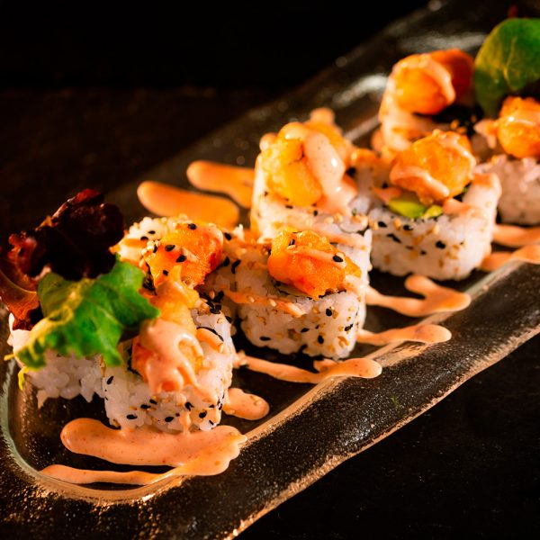 Langostinos Tigre Roll MACAO
