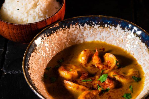 Arroz al curry MACAO